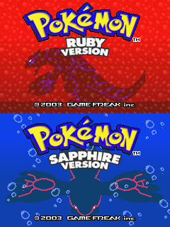 Pokémon_Ruby and Sapphire title - visite pandatoryu - PanTo!